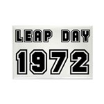 LEAP DAY 1972 Rectangle Magnet