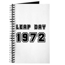 LEAP DAY 1972 Journal