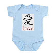 Love Symbol Infant Creeper