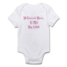 MrsSavannah Mason...  TO BE!! Infant Bodysuit
