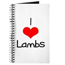I Love (heart) Lambs Journal