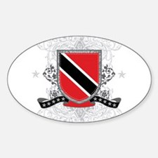 Trinidad and Tobago Shield Oval Decal