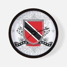Trinidad and Tobago Shield Wall Clock