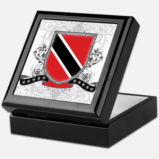 Trinidad and Tobago Shield Keepsake Box