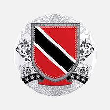 "Trinidad and Tobago Shield 3.5"" Button (100 pack)"