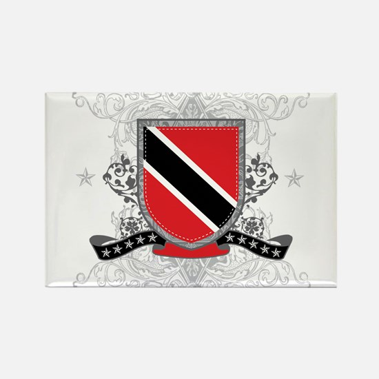 Trinidad and Tobago Shield Rectangle Magnet