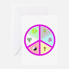 Peace_Signs Greeting Card