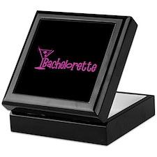 Bachelorette - Dark Pink Mart Keepsake Box