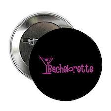 """Bachelorette - Dark Pink Mart 2.25"""" Button"""