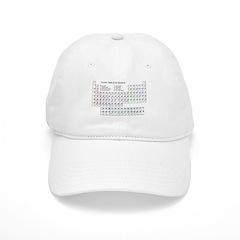 Periodic Table - 1 Baseball Cap