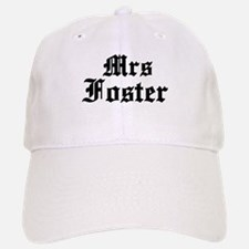 Mrs Foster Baseball Baseball Cap