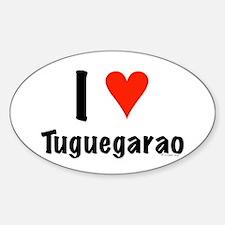 I love Tuguegarao Oval Decal