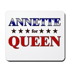 ANNETTE for queen Mousepad