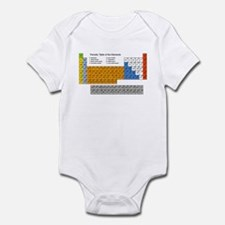 Periodic Table  Infant Bodysuit