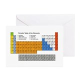 Chemical engineers Greeting Cards (10 Pack)