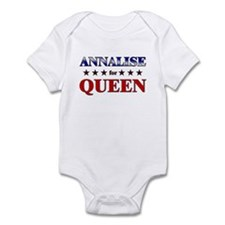 ANNALISE for queen Infant Bodysuit