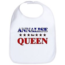 ANNALISE for queen Bib