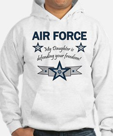 Air Force Daughter defending Hoodie