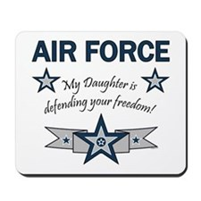 Air Force Daughter defending Mousepad