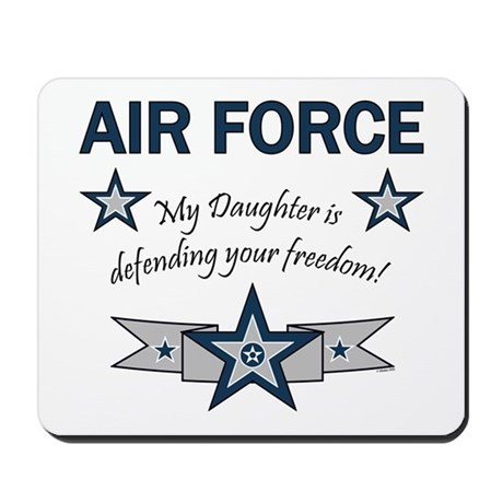 Air Force Daughter defending Mousepad