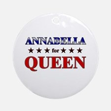 ANNABELLA for queen Ornament (Round)