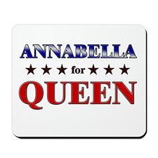 ANNABELLA for queen Mousepad