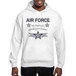 Air Force Boyfriend freedom Hooded Sweatshirt