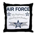 Air Force Boyfriend freedom Throw Pillow