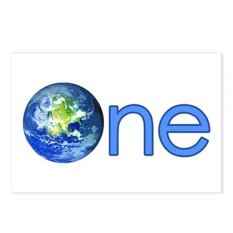 One Earth Postcards (Package of 8)