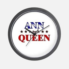 ANN for queen Wall Clock
