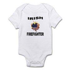 Irish USA Firemen Infant Bodysuit