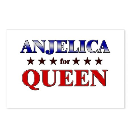 ANJELICA for queen Postcards (Package of 8)