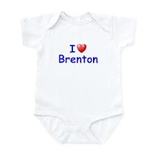I Love Brenton (Blue) Infant Bodysuit