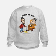 Cute Laurel and hardy Sweatshirt