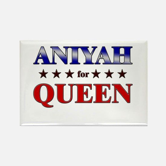 ANIYAH for queen Rectangle Magnet