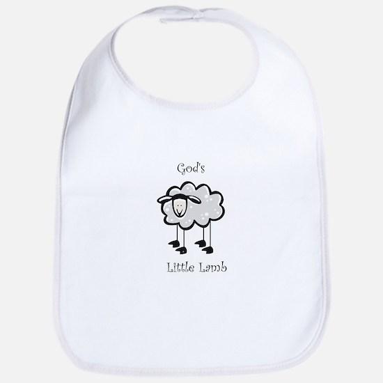 Gods little lamb Bib