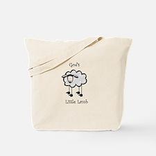 Gods little lamb Tote Bag