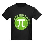 Pi Day Kids Dark T-Shirt