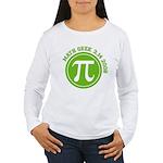 Pi Day Women's Long Sleeve T-Shirt
