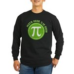 Pi Day Long Sleeve Dark T-Shirt