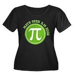 Pi Day Women's Plus Size Scoop Neck Dark T-Shirt