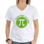 Pi Day Women's V-Neck T-Shirt