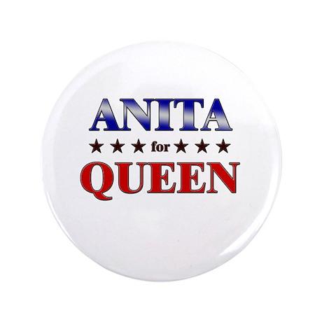 """ANITA for queen 3.5"""" Button"""