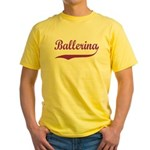 Ballerina Yellow T-Shirt
