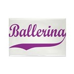 Ballerina Rectangle Magnet (10 pack)