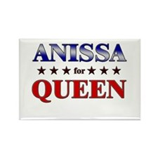 ANISSA for queen Rectangle Magnet (10 pack)