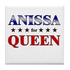 ANISSA for queen Tile Coaster