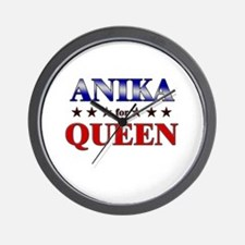 ANIKA for queen Wall Clock