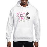 Soldier's Girl Dog Tags Hooded Sweatshirt