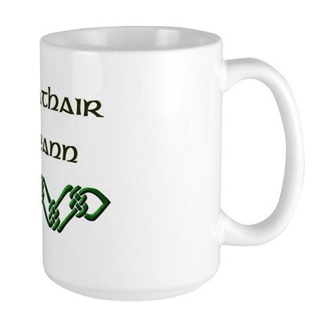 'Irish Grandfather' (Gaelic) Large Mug